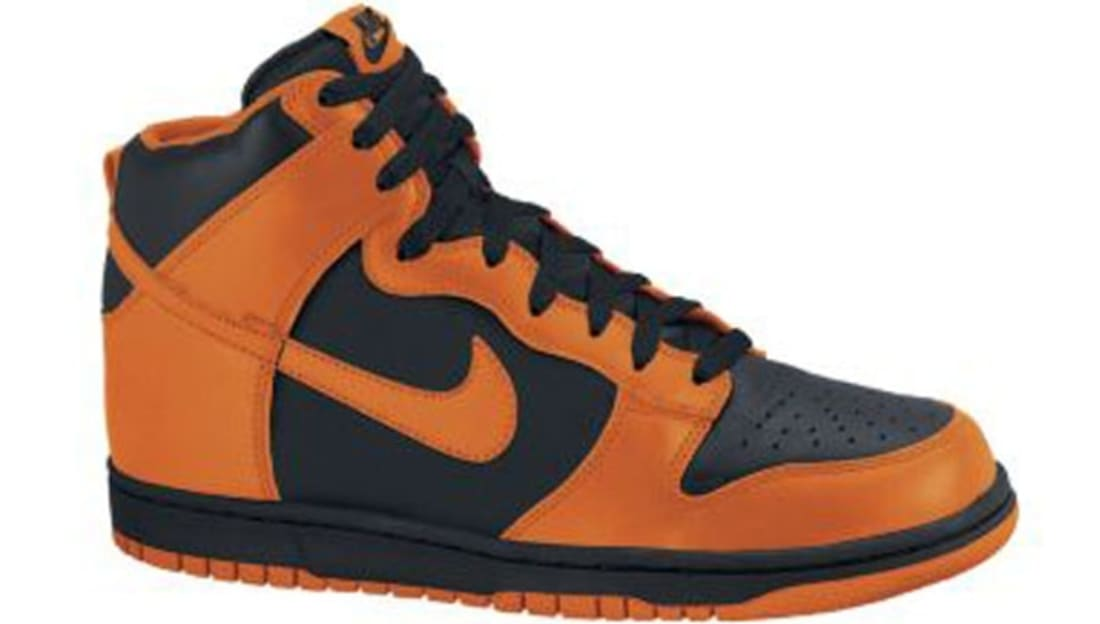 the best attitude d75c5 92bb3 Nike Dunk High Black/Safety Orange | Nike | Sole Collector