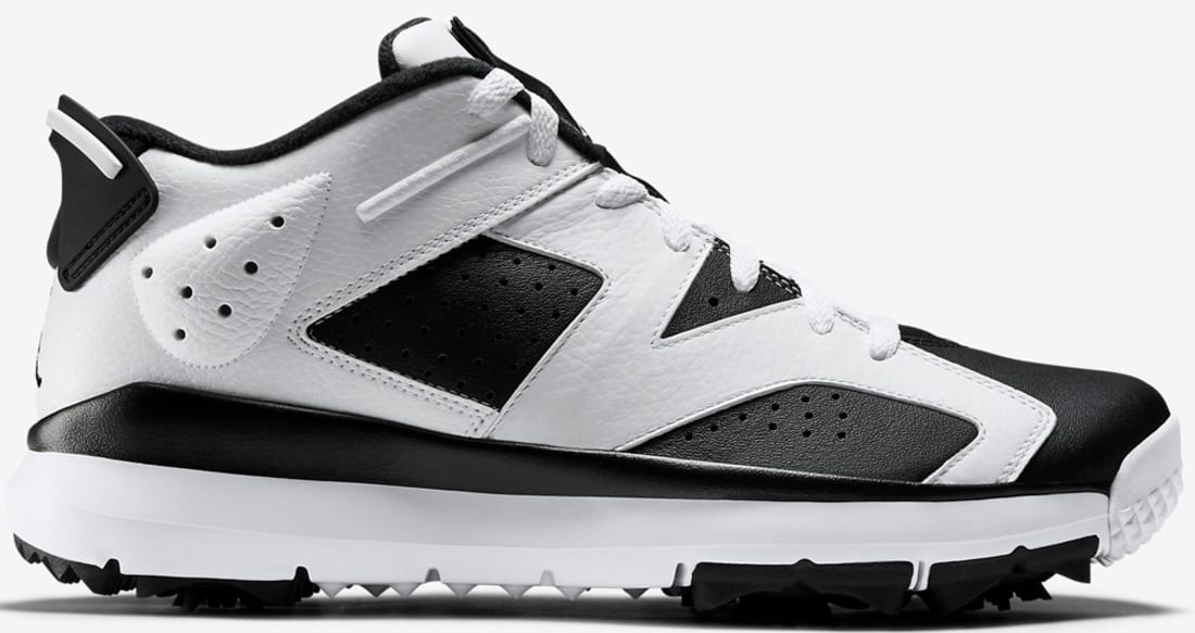 Air Jordan 6 Retro Low Golf White/Black