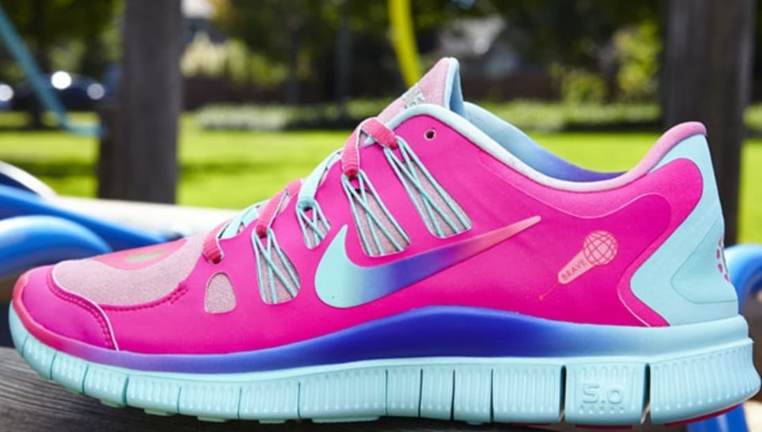 sale retailer 1035c 29263 Bella s Nike Free Run 5.0 Women s DB Doernbecher