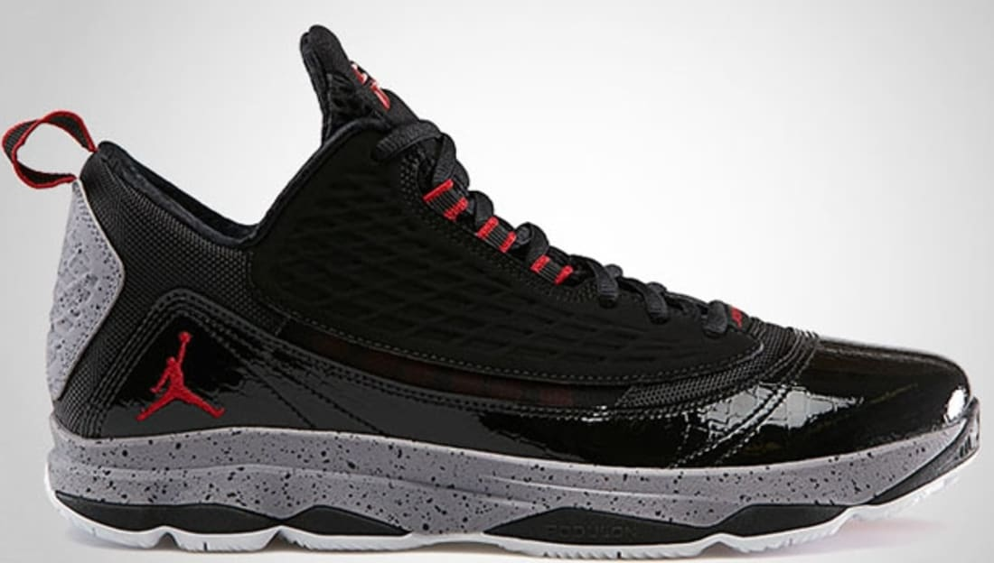 size 40 b4a8c cae7d Jordan CP3.VI AE Black Gym Red-Cement Grey