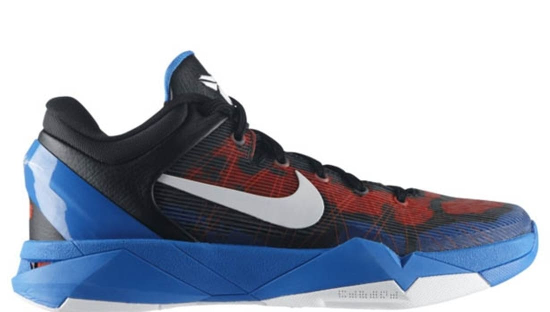 9e67b4c12ab3 Nike Zoom Kobe 7 Poison Dart Frog Photo Blue