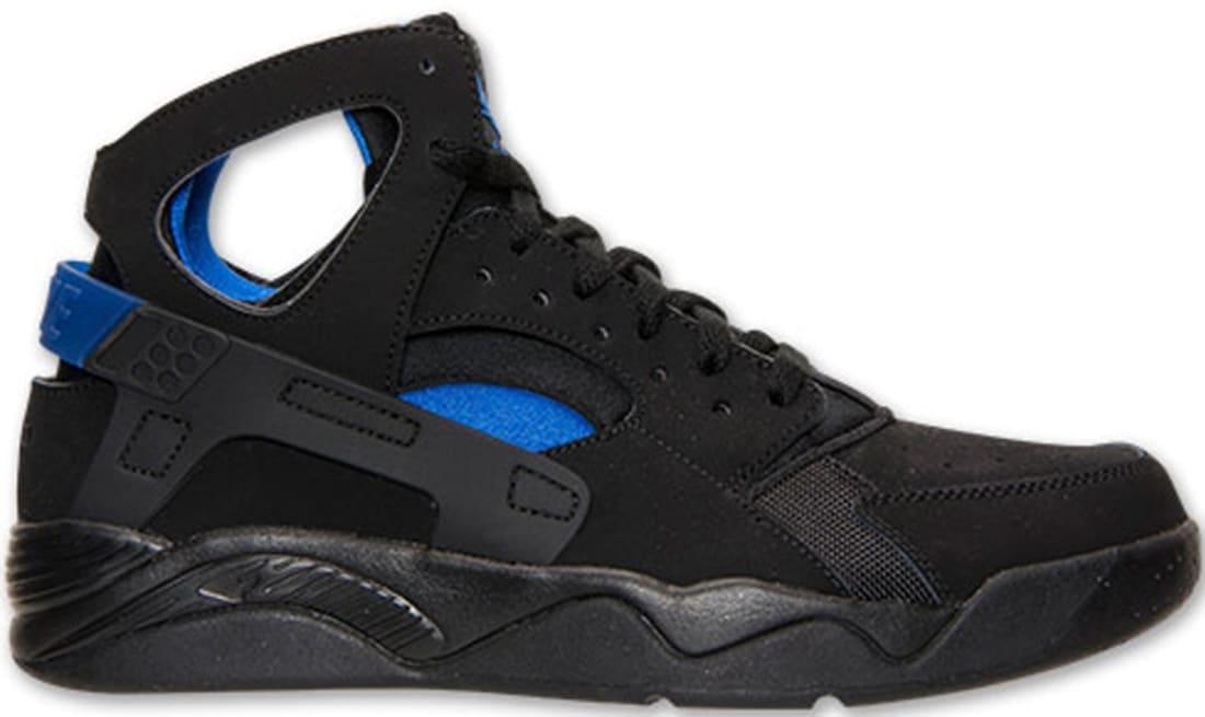13108b41b5307 Nike · Nike Basketball · Nike Air Flight Huarache. Nike Air Flight Huarache  Black Lyon Blue