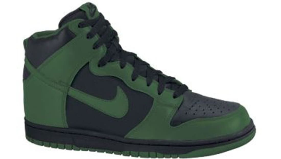 new concept 112a5 9e7ab Nike Dunk High Gorge Green Black