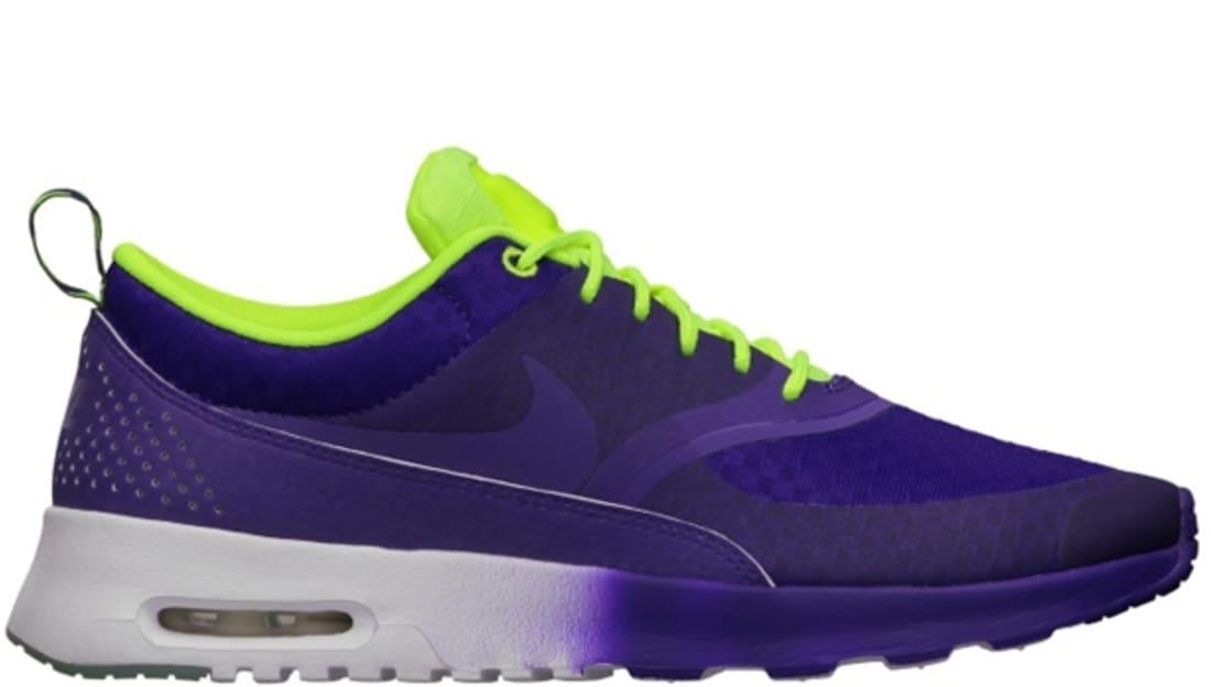 Nike Air Max Thea Woven QS Women's Electric Purple/Electric Purple-Volt-White