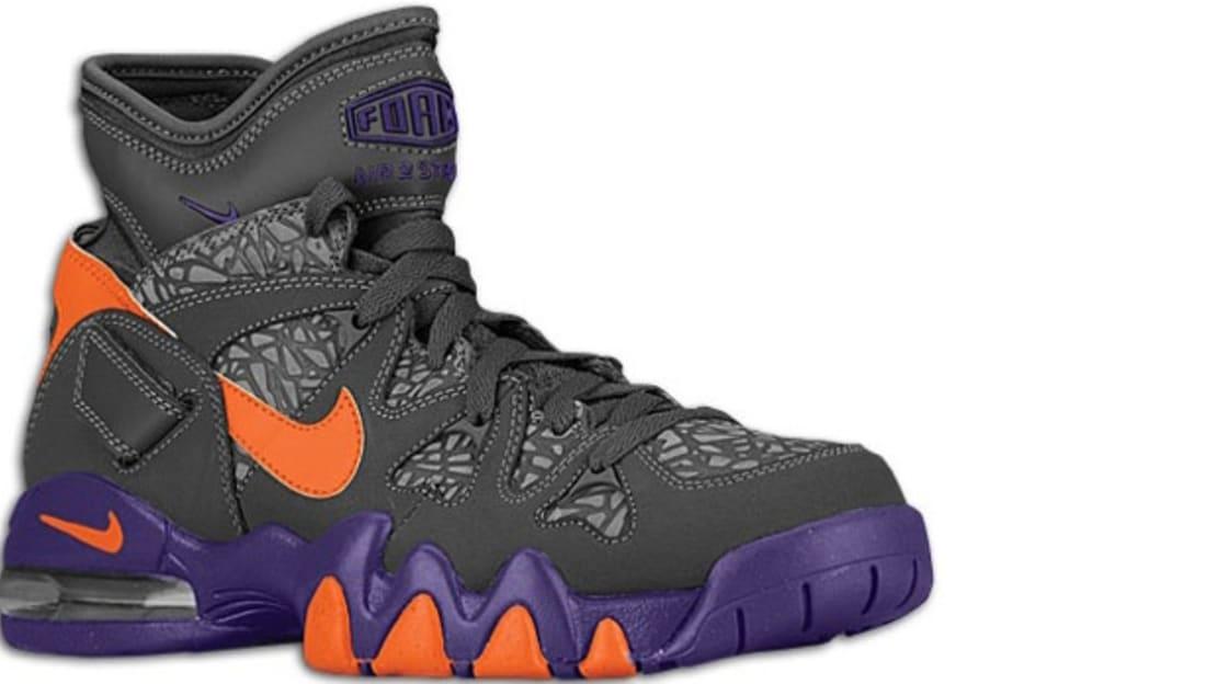 Nike Air Max 2 Strong Dark Grey Electric Orange-Court Purple  bdfc4d3fd