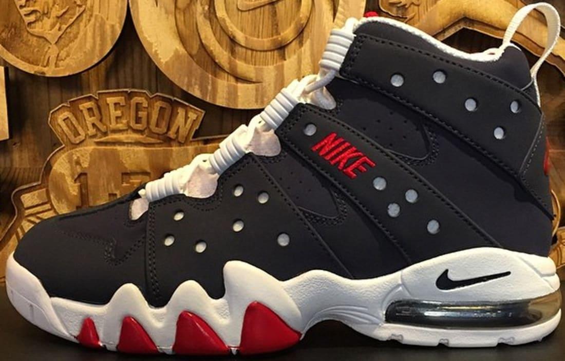 Nike Air Max2 CB '94 Obsidian/Gym Red-White