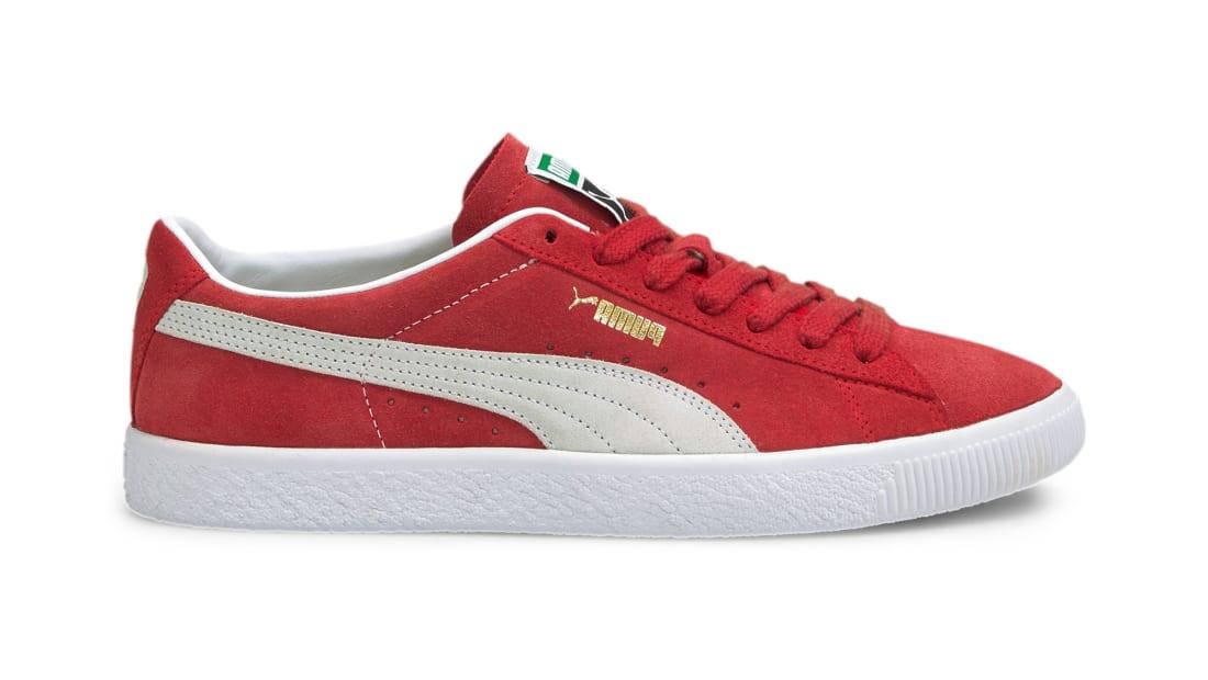 Puma Suede VTG High Risk Red-Puma White