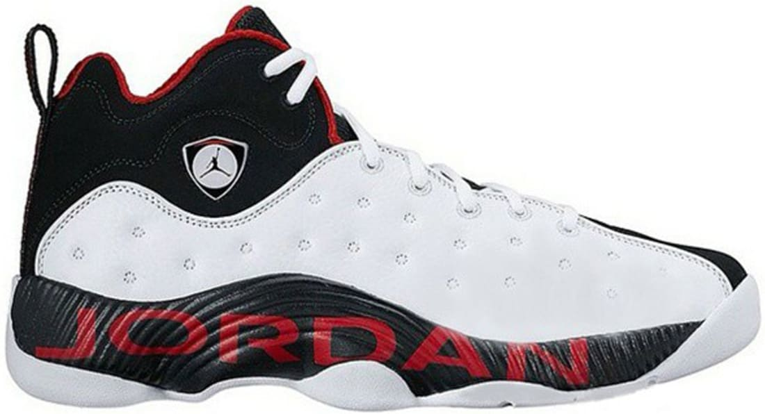 Jordan Jumpman Team 2 White/Black-Varsity Red