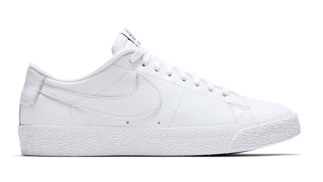 b5431b28d065 NBA x Nike SB Blazer Low White White-Rush Blue