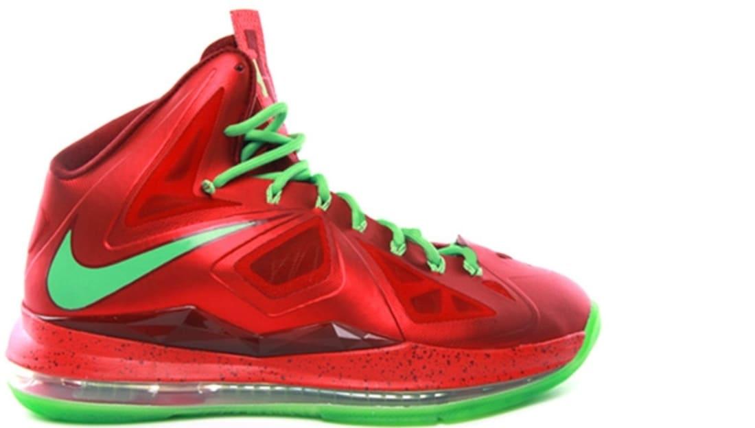 separation shoes 0e965 cc0a7 Nike LeBron X Christmas