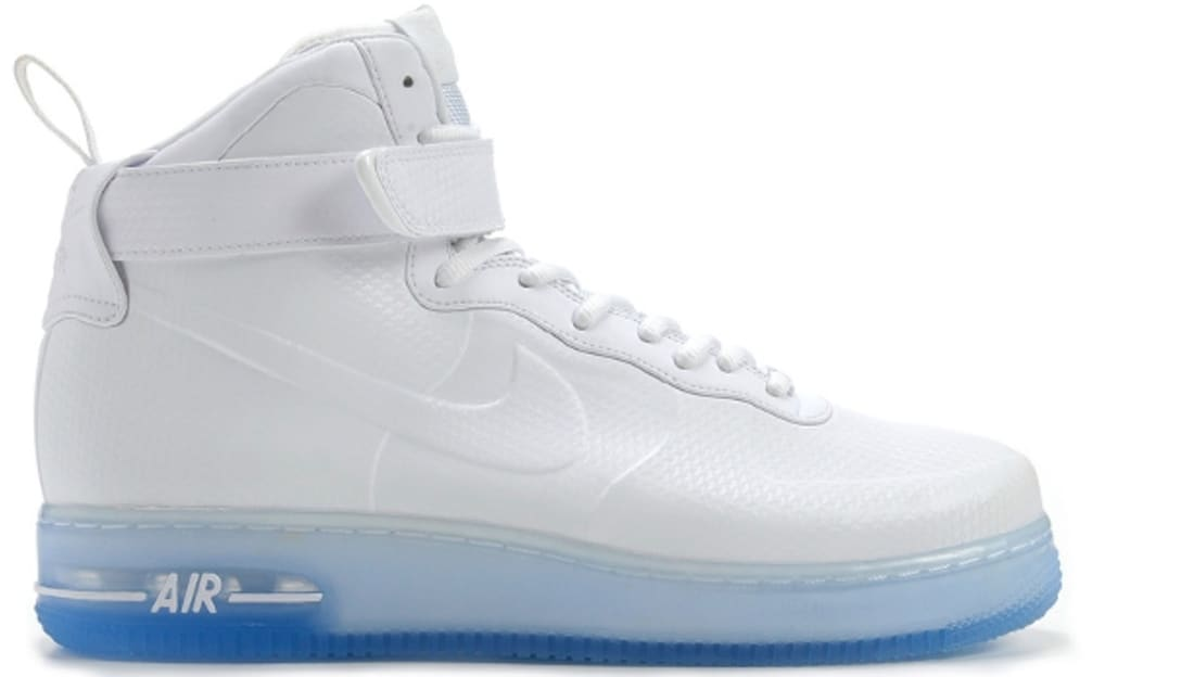 c1c9f83df4a Nike Air Force 1 High Foamposite QS White White