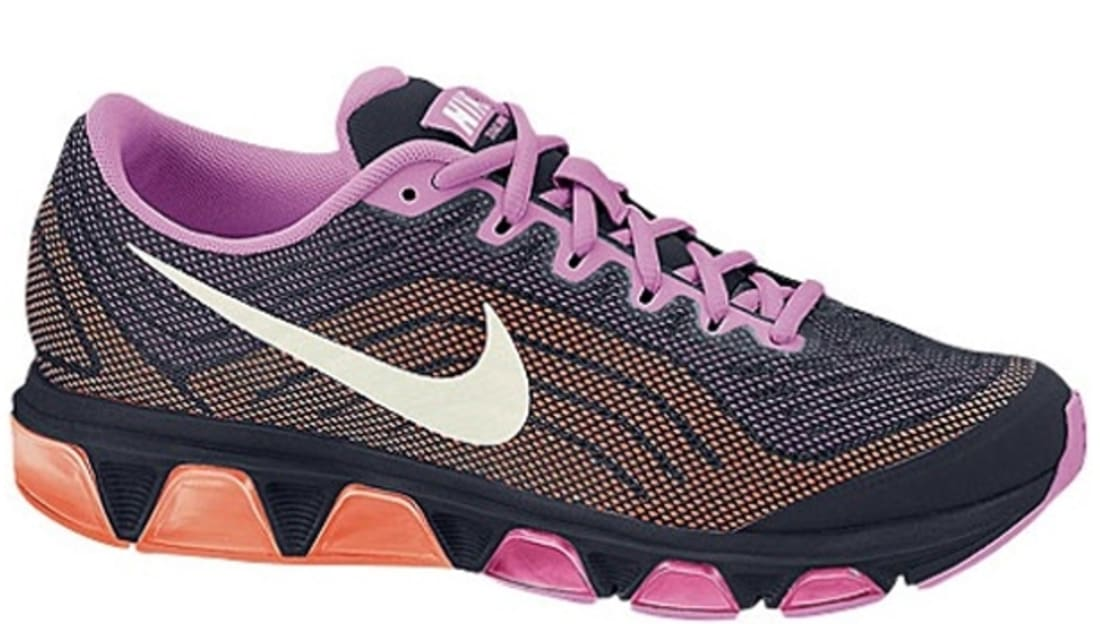 low cost ef0c8 9542f Nike Air Max Tailwind 6 Women s Obsidian Sail-Red Violet-Atomic Orange