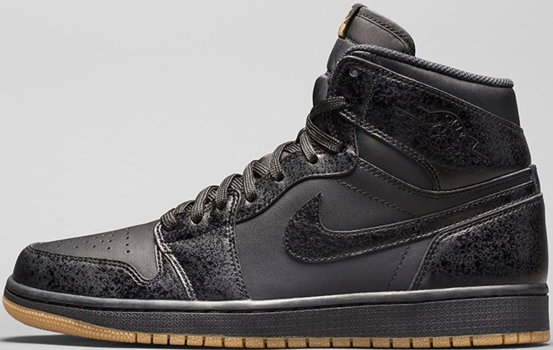 Air Jordan 1 Retro High OG Black/Black-Gum Light Brown