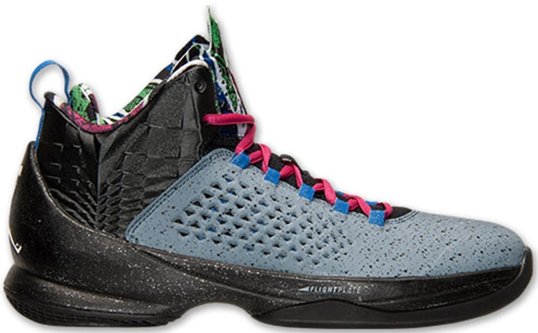 Jordan Melo M11 Blue Graphite/Metallic Silver-Black-Game Royal
