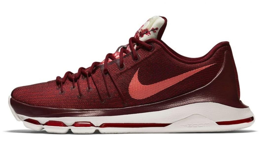 Nike · Nike KD · Nike KD 8 (VIII). Nike KD 8  Perseverance  Team Red-Bright  Crimson-White-Sail-University Red 6d4177fc81