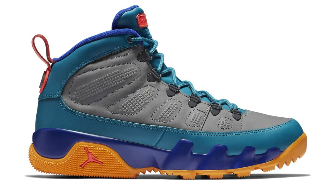 official photos 3d71a 2163e Air Jordan 9 Retro Boot NRG Concord/Dark Grey/Green Abyss ...