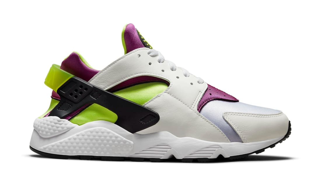 Nike Air Huarache (Neon Yellow and Magenta 2021)
