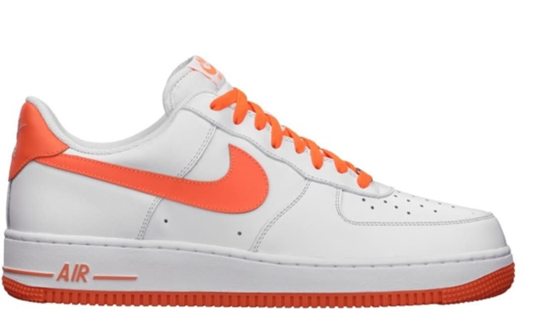 026cf7a6afed Nike Air Force 1 Low White Total Orange