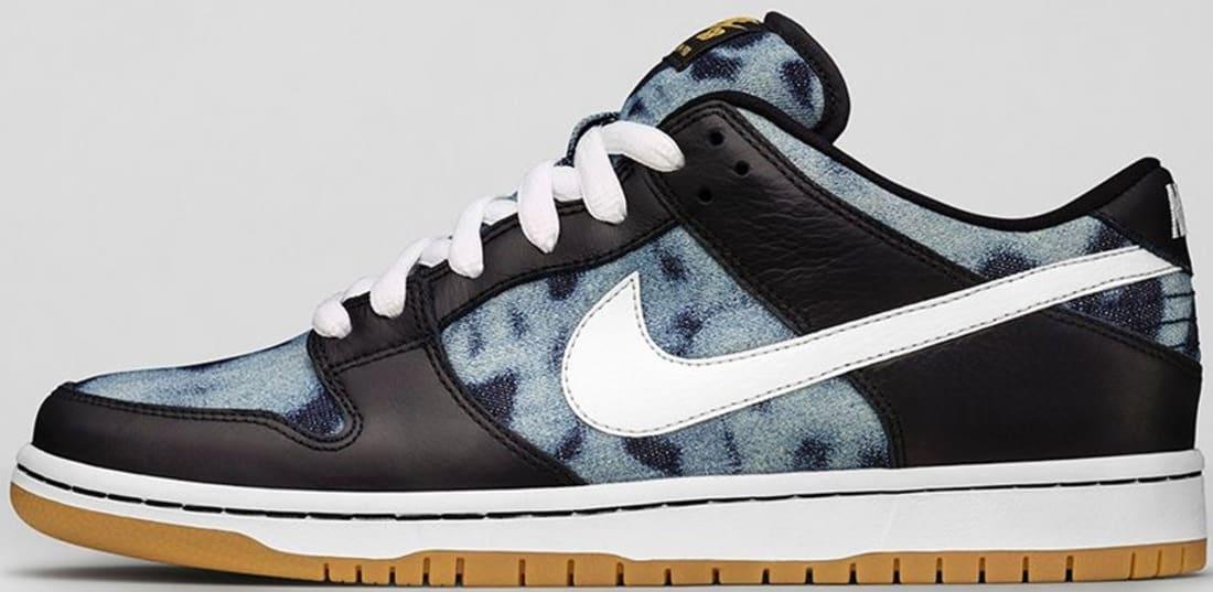 Nike Dunk Low Premium SB Black/White-Midnight Navy