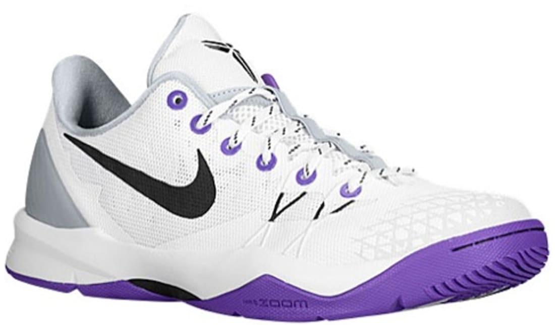 newest collection d786c 54de8 Nike Zoom Kobe Venomenon 4 White/Black-Wolf Grey-Court Purple | Nike ...