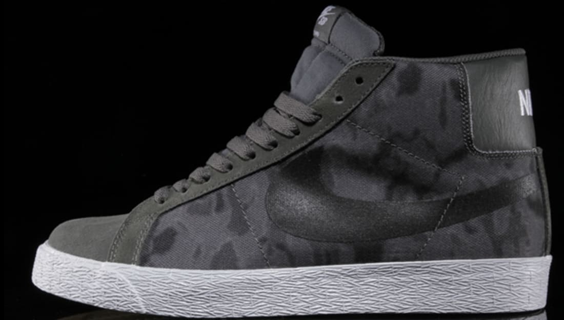 Nike SB Zoom Blazer Premium SE Base Grey/Black-White