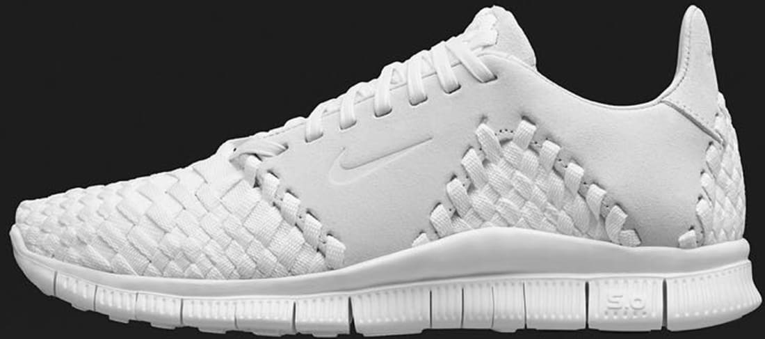 outlet store 701c2 72517 Nike Free Inneva Woven II White White