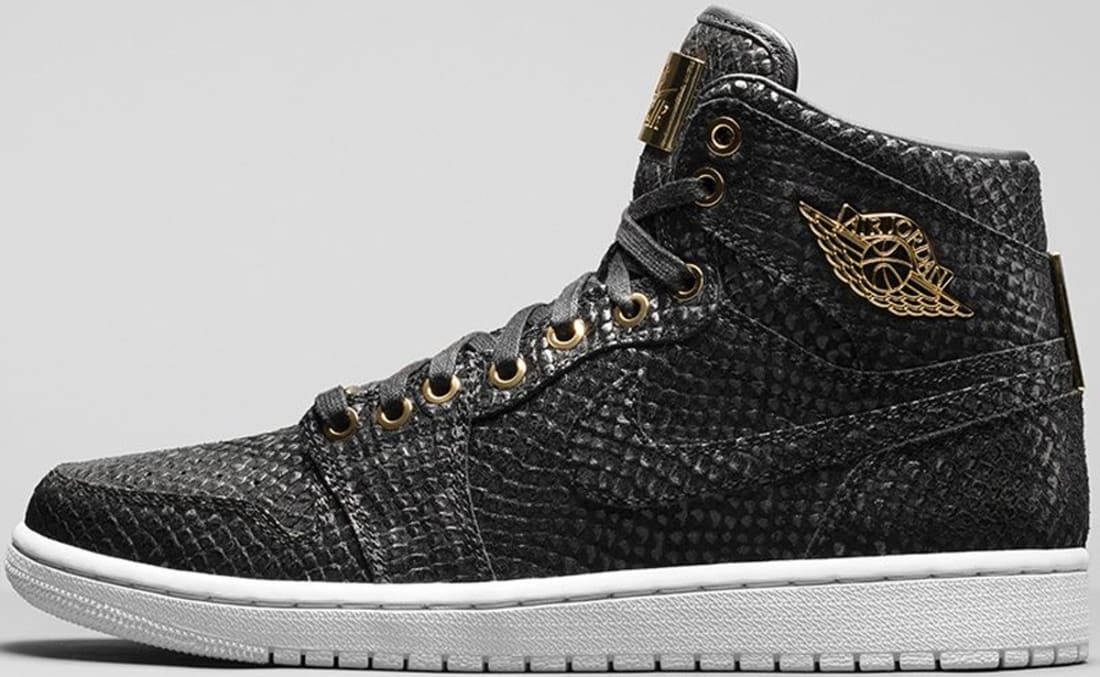 82e06533237 Air Jordan 1 Retro High OG Pinnacle Black/Black-Metallic Gold-White ...