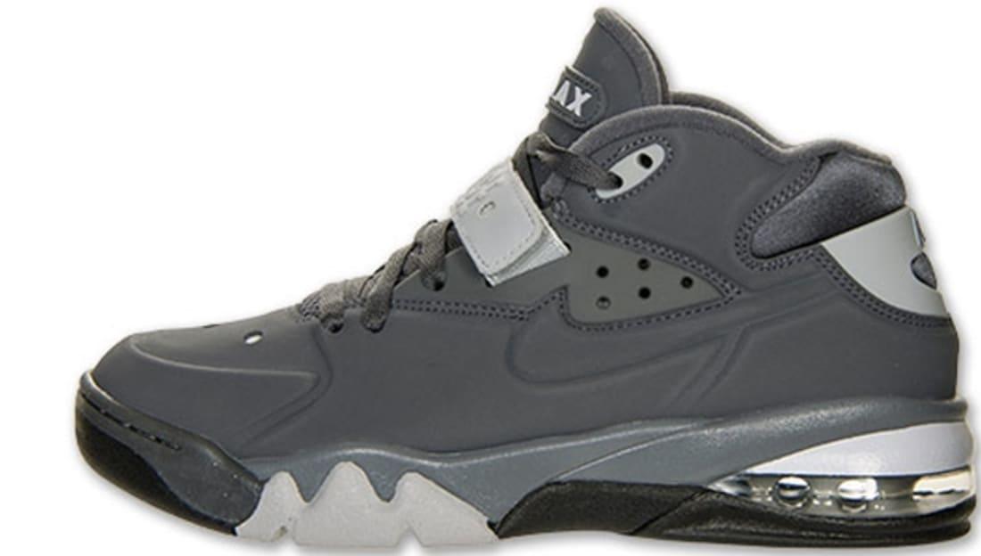 f9b3688f98332 Nike Air Force Max 2013 Dark Grey/Dark Grey-Wolf Grey-Black | Nike ...