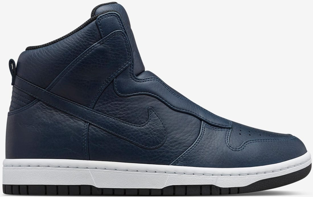 Nike Dunk Lux High SP Women's Obsidian/Volt-Obsidian