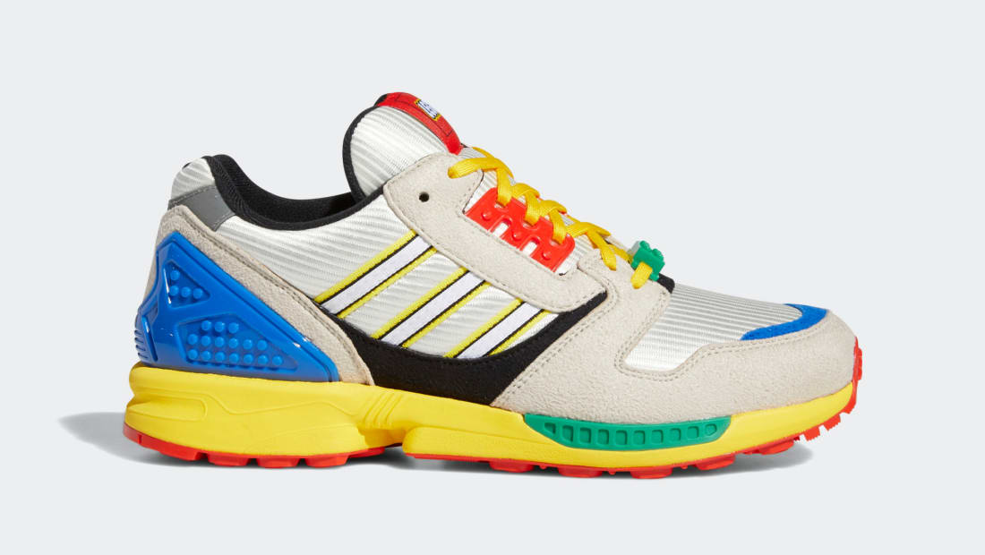 LEGO x Adidas ZX 8000 Yellow/Bliss/Cloud White