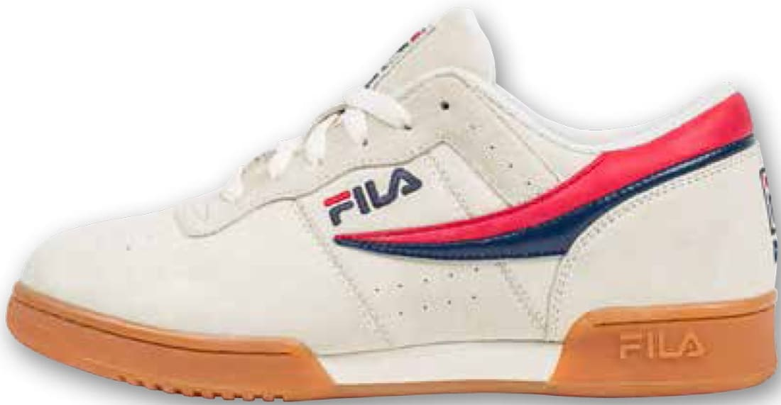 Fila Original Fitness White/Red-Navy