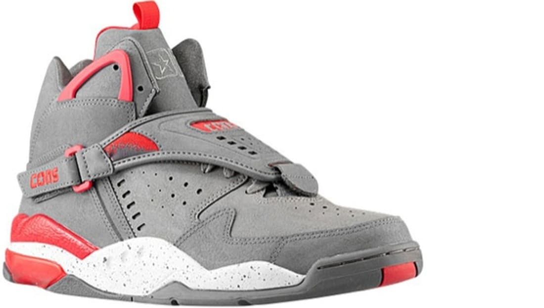 495bb4acd3ab4d Converse Aero Jam Mid Smoke Pearl Frost Grey-Converse Red