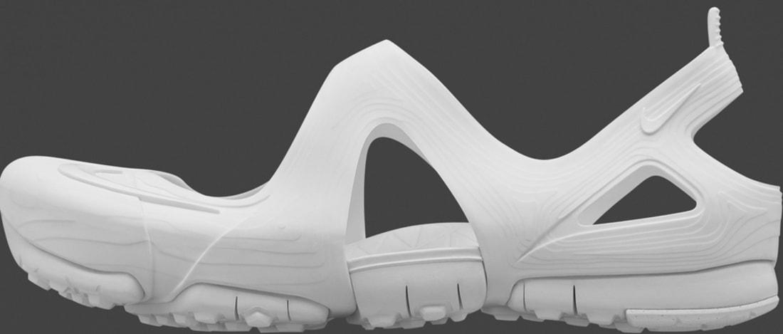 Nike Free Rift Sandal White/White