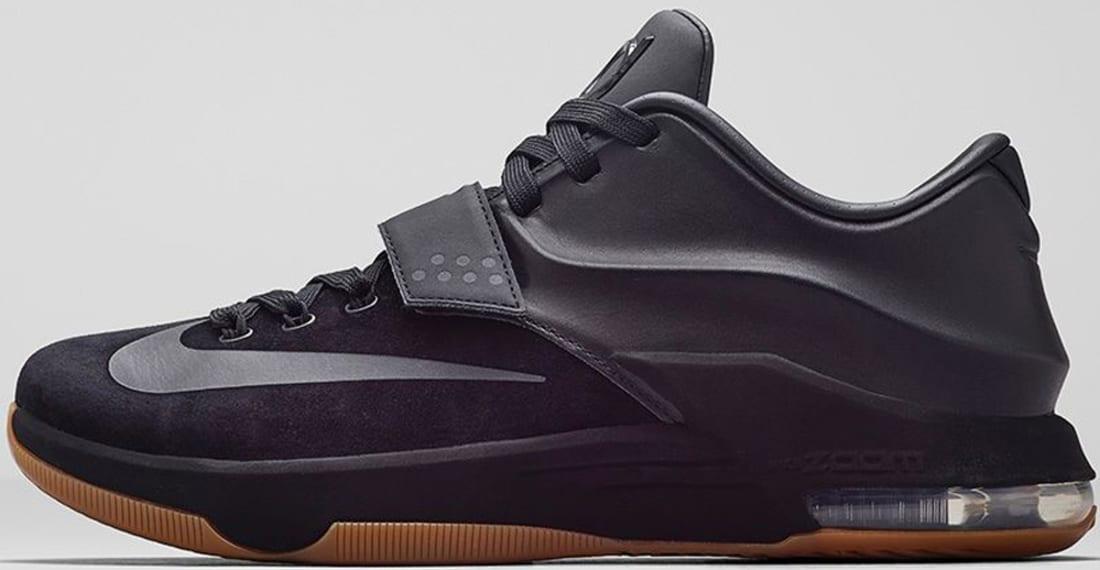 buy online 695cd 1977d Nike KD VII EXT Suede QS Black/Black | Nike | Sole Collector