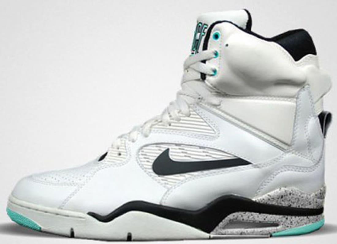 Nike Air Command Force White/Black-Wolf Grey-Hyper Jade