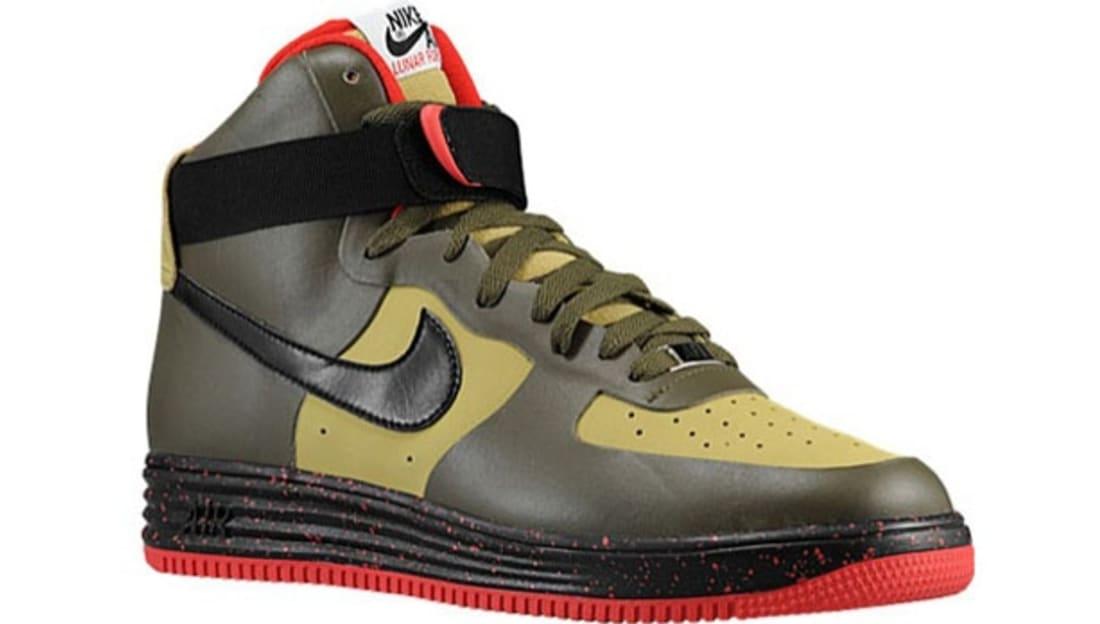Nike Lunar Force 1 NS Hi Premium Parachute Gold/Black