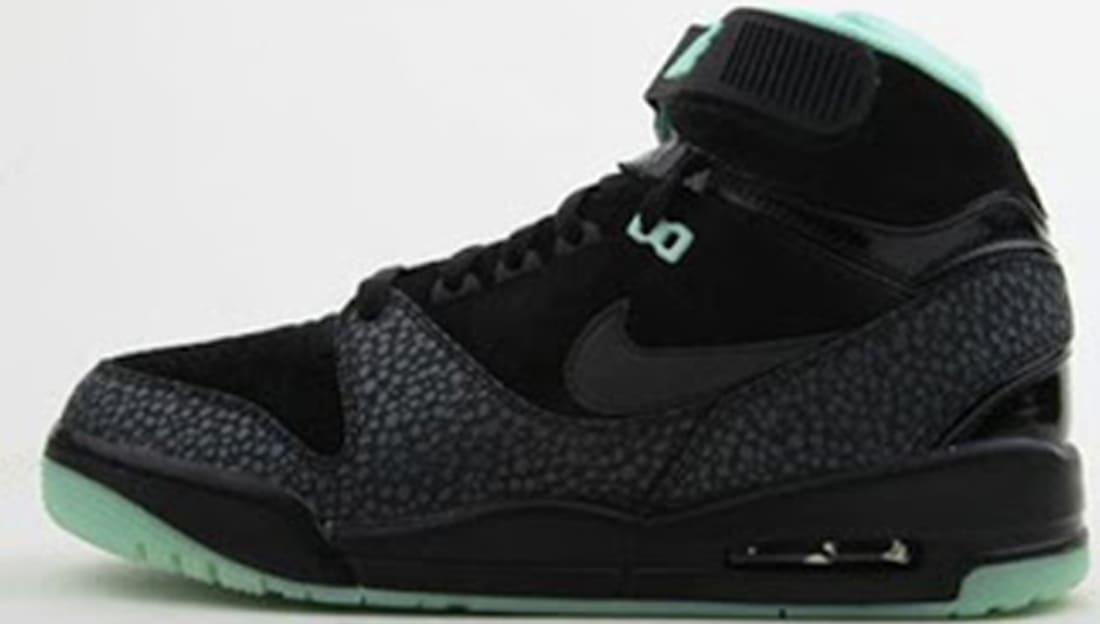 Nike Air Revolution Premium QS Black/Black-Artic Green-Dark Grey