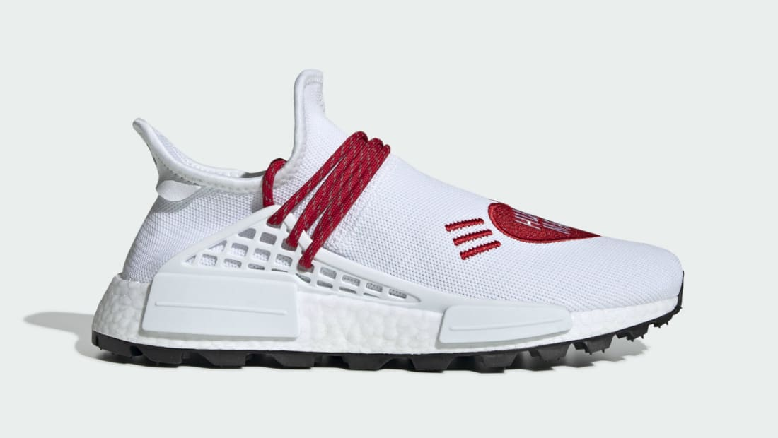 Human Made x Adidas Pharrell NMD Hu White/Red