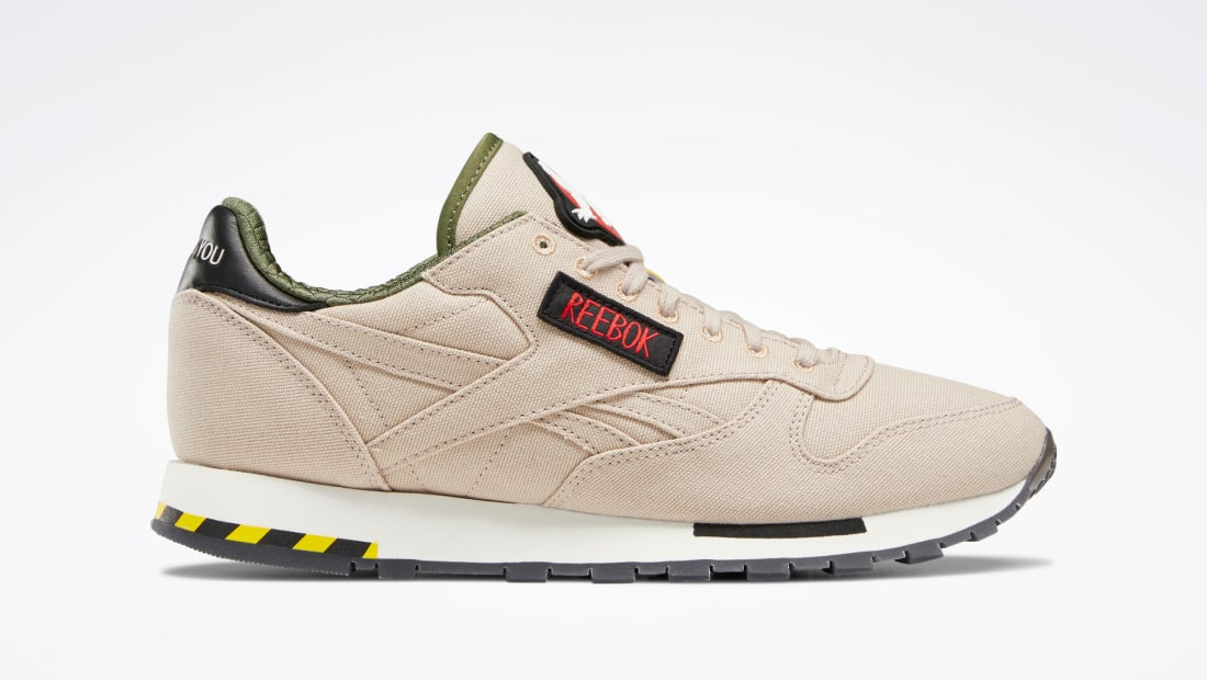 Ghostbusters x Reebok Classic Leather