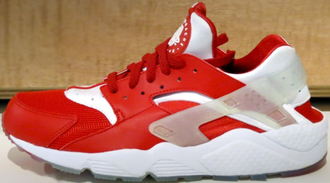 best website 267e5 21d2f Nike Air Huarache Premium University Red/White | Nike | Sole Collector