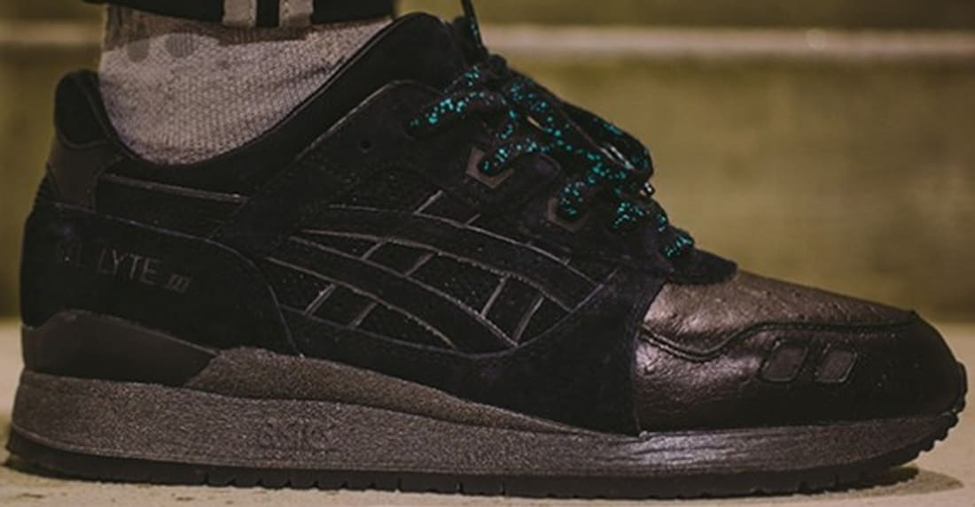 100% authentic 2adaf e619a Asics Gel-Lyte III Black/Black | ASICS | Sole Collector