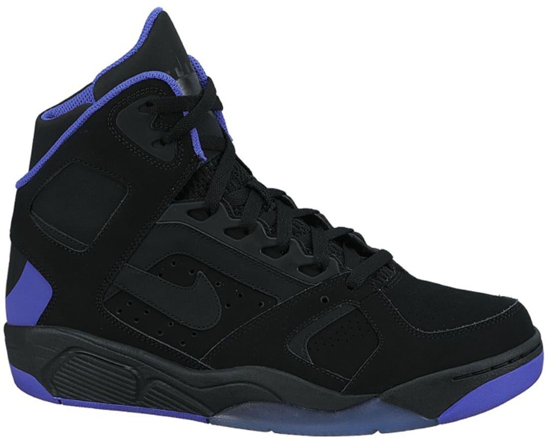 También Poner césped  Nike Air Flight Lite High Black/Pure Purple | Nike | Sole Collector