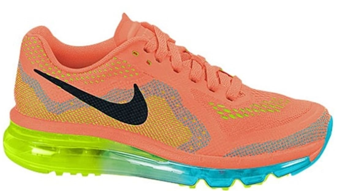 Nike · Nike Air Max · Nike Air Max 2014. Nike Air Max 2014 Women s Atomic  Orange Black-Volt-Gamma Blue 2285899d6