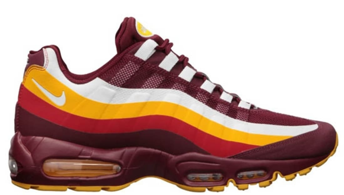 Nike Air Max '95 No-Sew NFL Washington Redskins