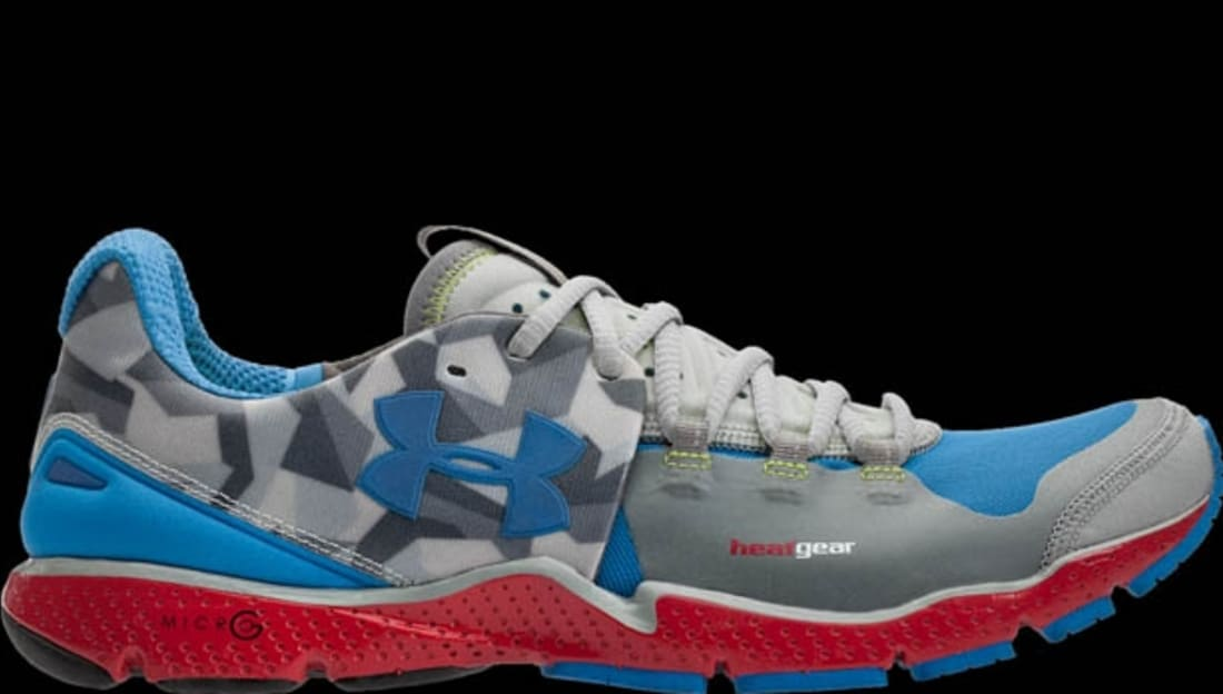 Under Armour Charge RC Steel/Blue Taro-Red-Blue Taro