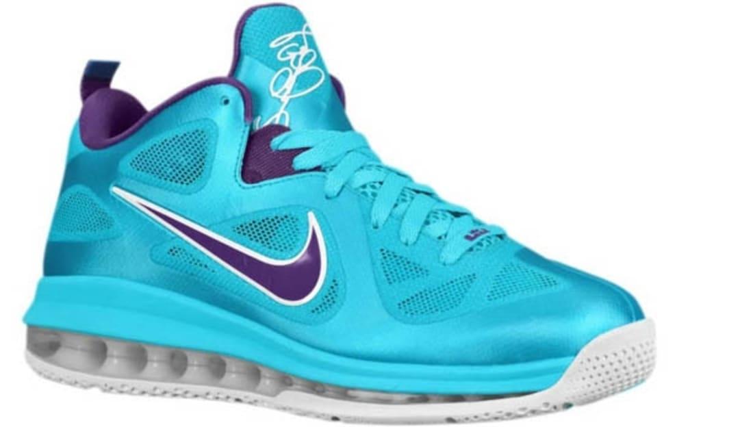 6d7229e9d1b Nike · Nike LeBron · Nike LeBron 9 (IX). Nike LeBron 9 Low Summit Lake  Hornets