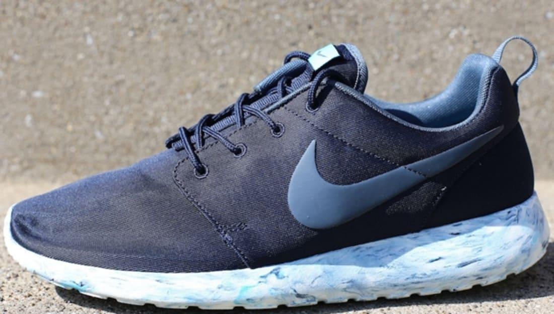 Nike Roshe Run QS Dark Obsidian/Dark Armory Blue-Gamma Blue