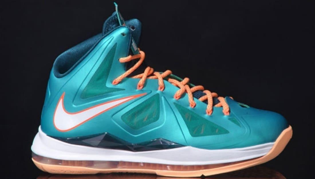 Nike LeBron X Dolphins