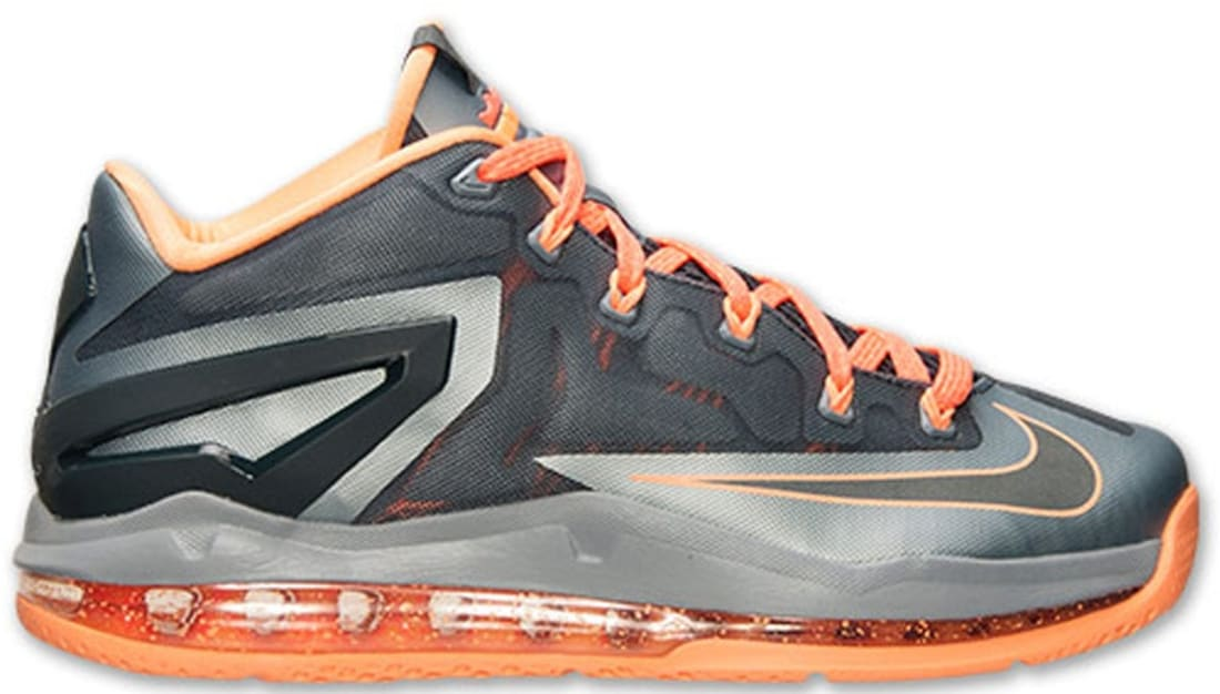 aefe73a177a8 Nike LeBron 11 Low Light Magnet Grey Dark Magnet Grey-Magnet Grey ...