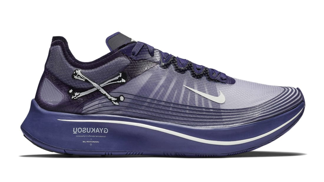 bancarrota violinista Destruir  Undercover Gyakusou x Nike Zoom Fly SP Ink/Sail-Dark Grey-Black   Nike    Sole Collector